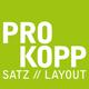 PROKOPP SATZ // LAYOUT